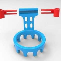 untitled.167.jpg Download free OBJ file phone holder car v7 • 3D print object, veganagev