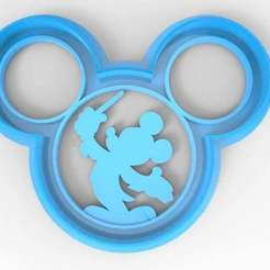 untitled.490.jpg Download free STL file Mickey conductor cookie cutter • 3D print model, veganagev