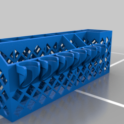 Download free STL file SILHOUETTE/CRICUT TOOL HOLDER lite • Design to 3D print, veganagev