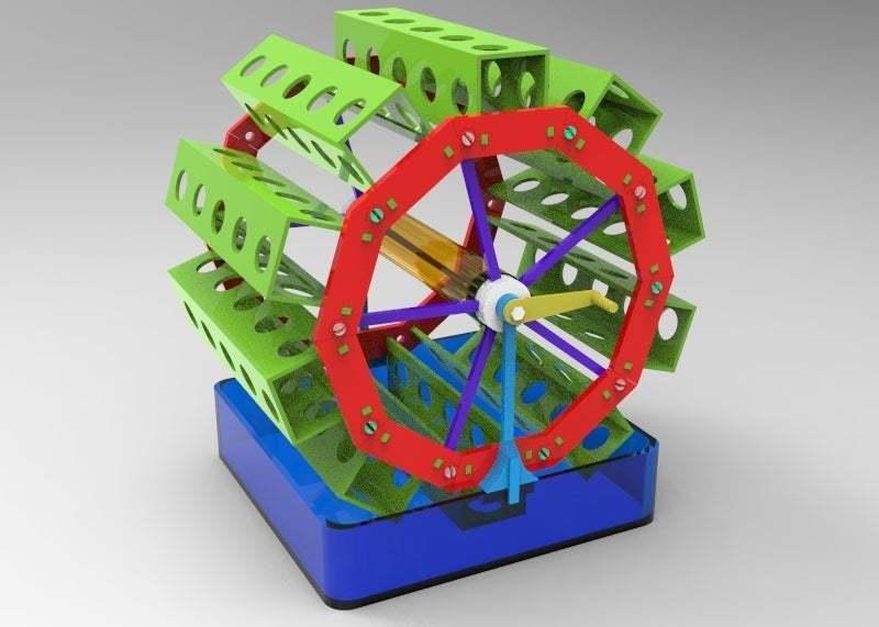 untitled.173.jpg Télécharger fichier OBJ gratuit jardin rotatif 3 • Design pour impression 3D, veganagev