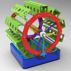 untitled.173.jpg Download free OBJ file rotary garden 3 • 3D printable template, veganagev