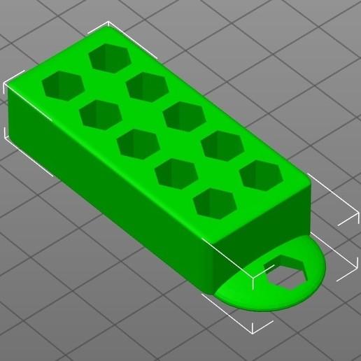 Télécharger fichier STL gratuit 10 PCS bit(zásobník 10 bitů) • Design imprimable en 3D, Prokopmacek