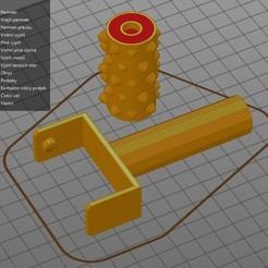 Télécharger fichier STL gratuit Massage à rouleaux(Masážní váleček) • Objet pour impression 3D, Prokopmacek
