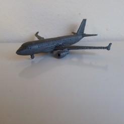 IMG_20191210_180346.jpg Télécharger fichier STL Airbus A320 • Objet pour impression 3D, Bananero