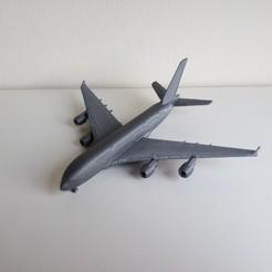 IMG_20191210_100112.jpg Télécharger fichier STL Airbus A380 • Modèle imprimable en 3D, Bananero