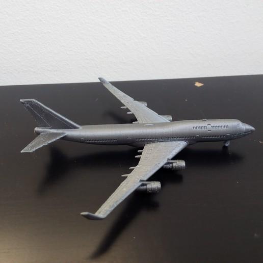 Download STL files Boeing 747-400, Bananero