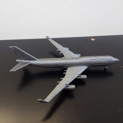 IMG_20191228_134351.jpg Download STL file Boeing 747-400 • 3D printable model, Bananero