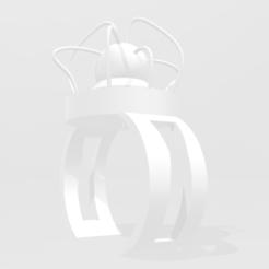 Impresiones 3D gratis El anillo del científico, atominiumauto