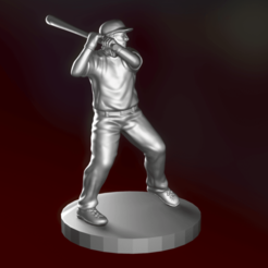 screenshot004.png Download STL file baseball player model 3D • Object to 3D print, ccsan