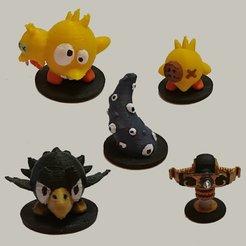 Imprimir en 3D gratis Fichas de Krosmaster, narayannis