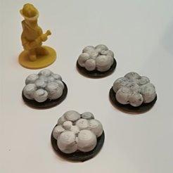 Image40.jpg Download free STL file Gaming Smoke token • 3D print object, narayannis