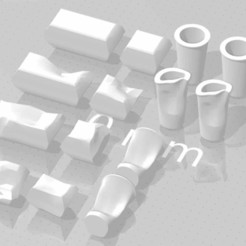 Untitled-1.jpg Download free STL file Literal Trash (Junk Food Containers) • 3D printer design, iamthewizurd