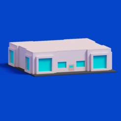 1.png Download STL file House Voxel - 3 • Template to 3D print, rockimit