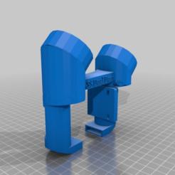 2d42f76db8d8e879de63ce6bce277993.png Download free STL file Dual 40mm Fan Duct for Tronxy X5S (stock hotend/housing) • 3D print object, EchoDelta