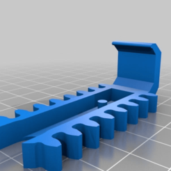 043b7e129acd4e0616c5f7c7b46f52aa.png Download free STL file Wider Holder Clips for Mechanical Quick Grab/Release Phone Stand • 3D printable template, EchoDelta