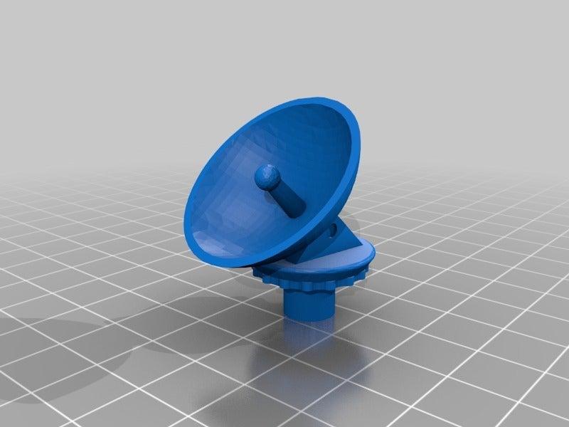 afa839ff34365869cd9f1a0def237aee.png Télécharger fichier STL gratuit Communication rotative simplifiée Visualiseur d'extrudeuse à plat • Plan à imprimer en 3D, EchoDelta