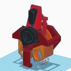 tv6new.JPG Télécharger fichier STL gratuit Echelon TV6 - Assemblage basculant à double extrémité chaude pour Tronxy X-Series ou CR-10 • Plan imprimable en 3D, EchoDelta