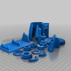 70a48801f856dc803bb9942e4e4c2132.png Download free STL file GE Jet Turbine - Custom Plated for Prusa i3 MK3 • Object to 3D print, EchoDelta
