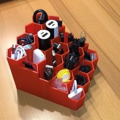 Descargar archivos 3D gratis Caja de almacenamiento (organizador), caja de utilidades, Kromig