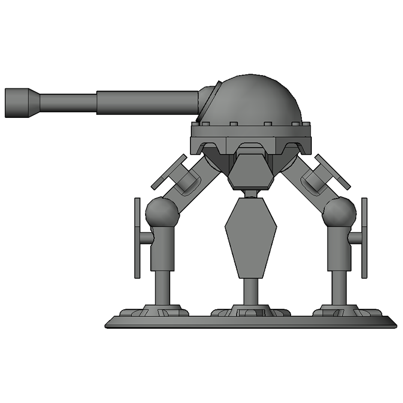 thumb8.png Download free STL file Mech Tabletop Figure (V1) • 3D print template, Oesterreichinese