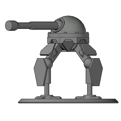 thumb7.png Download free STL file Mech Tabletop Figure (V1) • 3D print template, Oesterreichinese