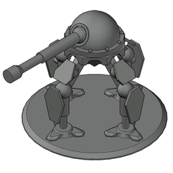thumb6.png Download free STL file Mech Tabletop Figure (V1) • 3D print template, Oesterreichinese