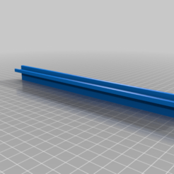 support_strip_LED_23.5cm_v1.png Download free STL file Support stript LED Alfawise U30pro • 3D printing object, lolonene