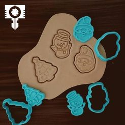 IMG84.JPG Download STL file  christmas cookie cutters  #3 • 3D printing template, sampaio-sampaio