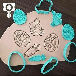 IMG91.jpg Download STL file  easter cookie cutters • 3D printing template, sampaio-sampaio