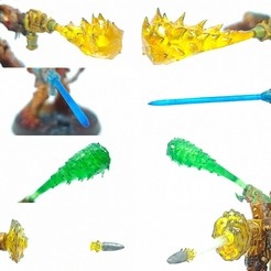 IMG_20200717_141738.jpg Download STL file Weapon Effects Pack 1 • 3D print template, TexMakes