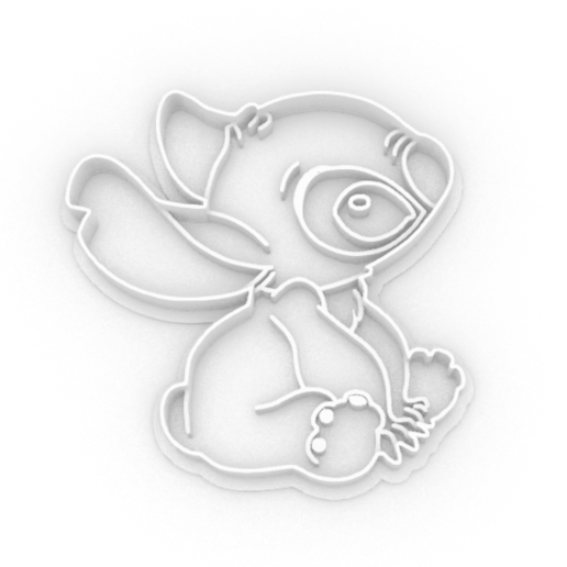 Download 3D-printbestanden Stich Cookie Cutter, maximus23casi2