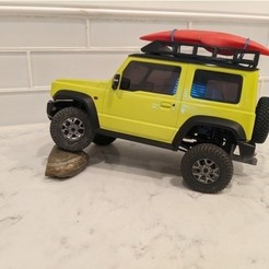 jimny1.jpg Download STL file 1:24 Scale Roof Rack • Model to 3D print, SnobbyComa8