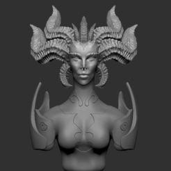 Download 3D printing files Lilith, Monkeykko
