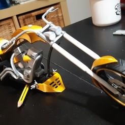 Télécharger fichier 3D Sabot chopper, JUCA3D