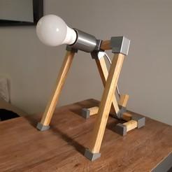"""Télécharger fichier STL Lampe """"Chien assis"""" (Lamp """"sitting dog""""), JUCA3D"""