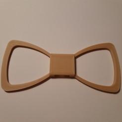 Télécharger plan imprimante 3D Empty bow tie (Noeud papillon vide), JUCA3D