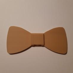 Télécharger fichier imprimante 3D Simple bow tie (Noeud papillon simple), JUCA3D