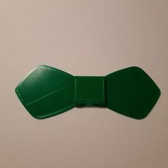 Télécharger fichier impression 3D Single bow tie (2) (Noeud papillon simple (2)), JUCA3D