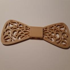 Télécharger fichier impression 3D Openwork bow tie (Noeud papillon ajouré), JUCA3D