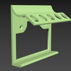 Imprimir en 3D gratis Porta cepillos de dientes, smartmendez