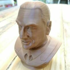 printer.jpg Download STL file Peron bust • Template to 3D print, smartmendez