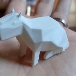 capy1.jpg Download STL file Capybara Low Poly • 3D printable template, smartmendez
