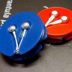 Descargar archivo 3D aislar la bobina de los auriculares, avgdvl