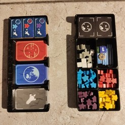 Download free 3D printing designs Ganymede + Moon Board game trays, mistic100
