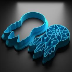 atrapa sueños.jpg Télécharger fichier STL Rêves de pêche • Modèle à imprimer en 3D, Patito_Metalero