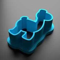 Descargar diseños 3D Llama cortador de galletas, Patito_Metalero