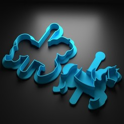 Descargar archivos 3D Carroussel cortador de galletas, Patito_Metalero