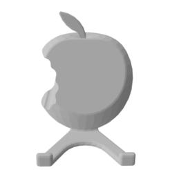 Download 3D printer model Apple phone holder, edwinripaud