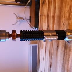 Download free 3D printer designs Kenobi Lightsaber, Goym