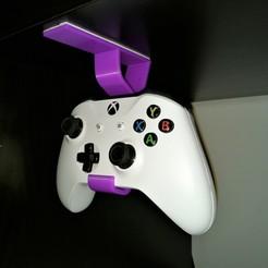 Descargar archivo 3D Soporte de soporte colgante para el controlador Xbox one, Gerrit259